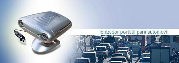 ionizador de aire para coche